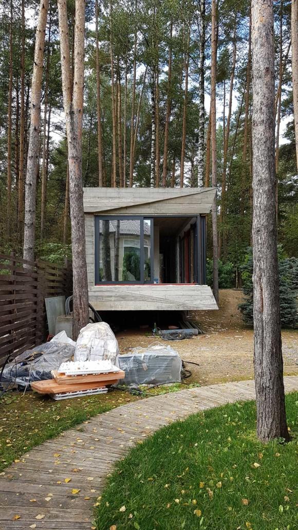 Sauna pavilion